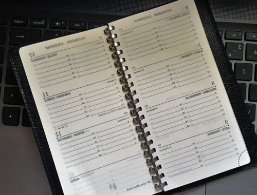 agenda pour bien gérer son planning de mariage