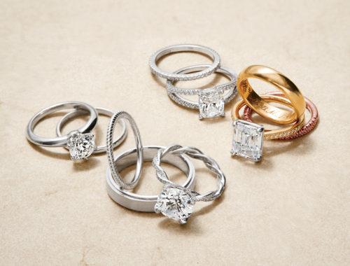 alliances de mariage en or ou en platine